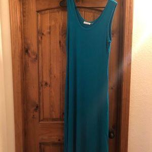 Calvin Klein tank maxi dress